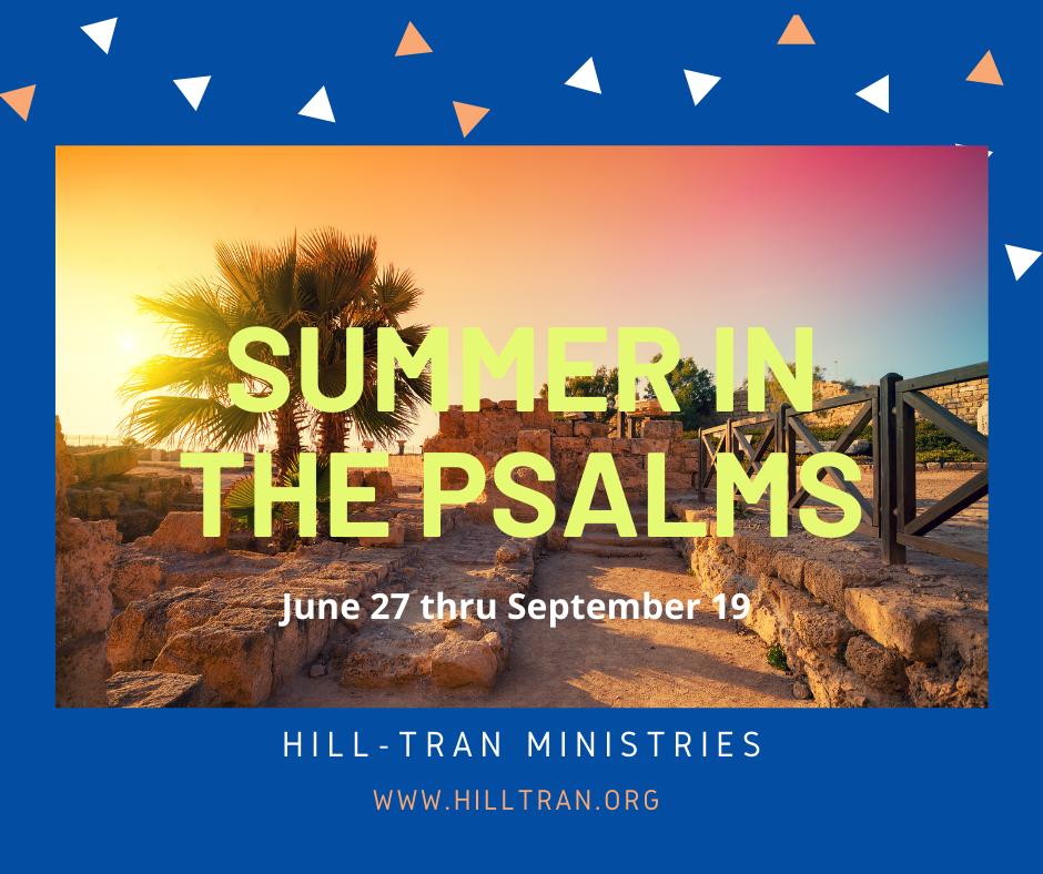 Summer in the Psalms Sermon Slide